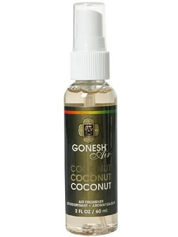 GONESH(ガーネッシュ)  エアーフレッシュナー ココナッツ 60ml