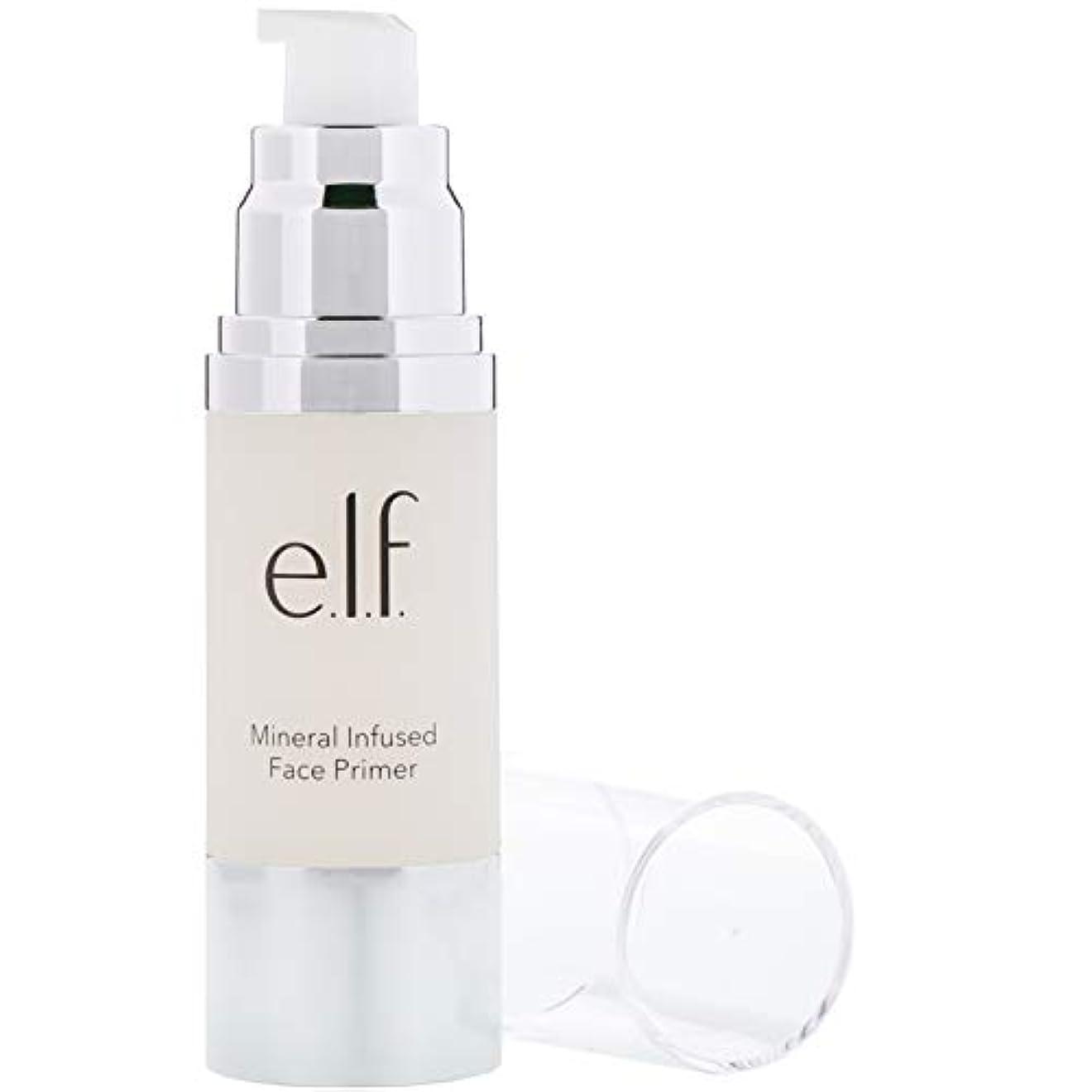 浸した台無しにベテランe.l.f. Mineral Infused Face Primer Large - Clear (並行輸入品)