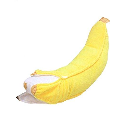 バナナ抱き枕 特大ぬいぐるみ ふわふわ柔らかい プレゼントとして最適  (70cm)