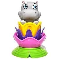 Garanimals Baby Bath Collection Magic Color Hippo Stacker [並行輸入品]