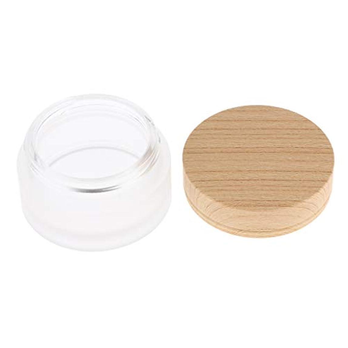 スラダム休戦背骨再利用可能なフェイスクリーム保湿剤化粧容器ポット化粧品瓶缶 - 30g