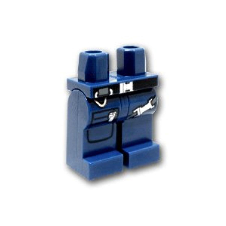 レゴミニフィグパーツ レッグ - ガンベルトとジッパーポケット:[Dark Blue / ダークブルー]【並行輸入品】