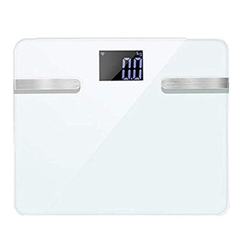 大佐ショルダーペストバスルームスケール滑り止め超薄型バックライトディスプレイ高精度デジタル体重体脂肪計