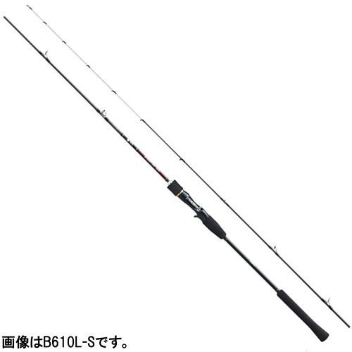 シマノ ベイトロッド 炎月 SS 鯛ラバ B610M-S 6.1フィート