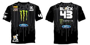 スーパースポーツ Tシャツ オートバイ WRC ケンブロック (KEN1, M)
