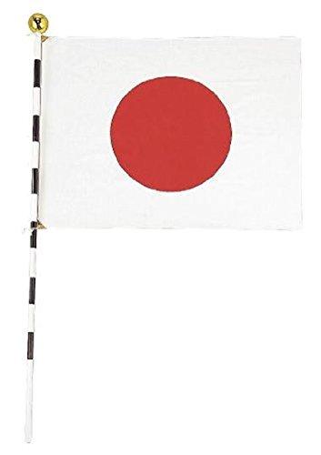 Moa Feteli(モアフェティ)日の丸 国旗セット■ 日本 国旗■ ひのまる ■箱付 ■ 国旗セット(高級テトロン製国旗 70×92cm 日本製)