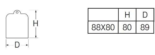 三栄水栓 【鉄製のトラップワン】 ワントラップワン青 JH534-88X80