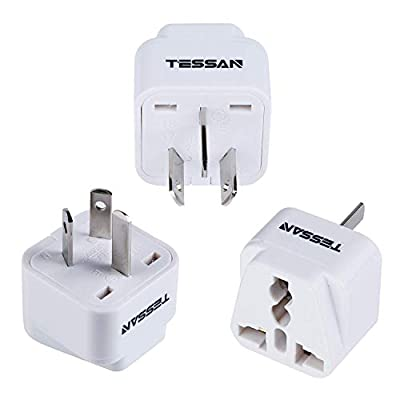 TESSAN Travel Adapter