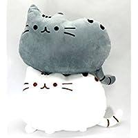 BeLoved フワフワ 柔らか かわいい ネコ クッション 抱き枕 オフィス用にも (2個セット)