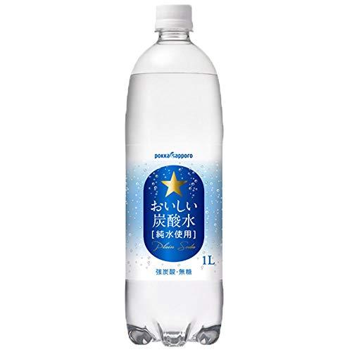 おいしい炭酸水 -純水使用- 1L ×12本