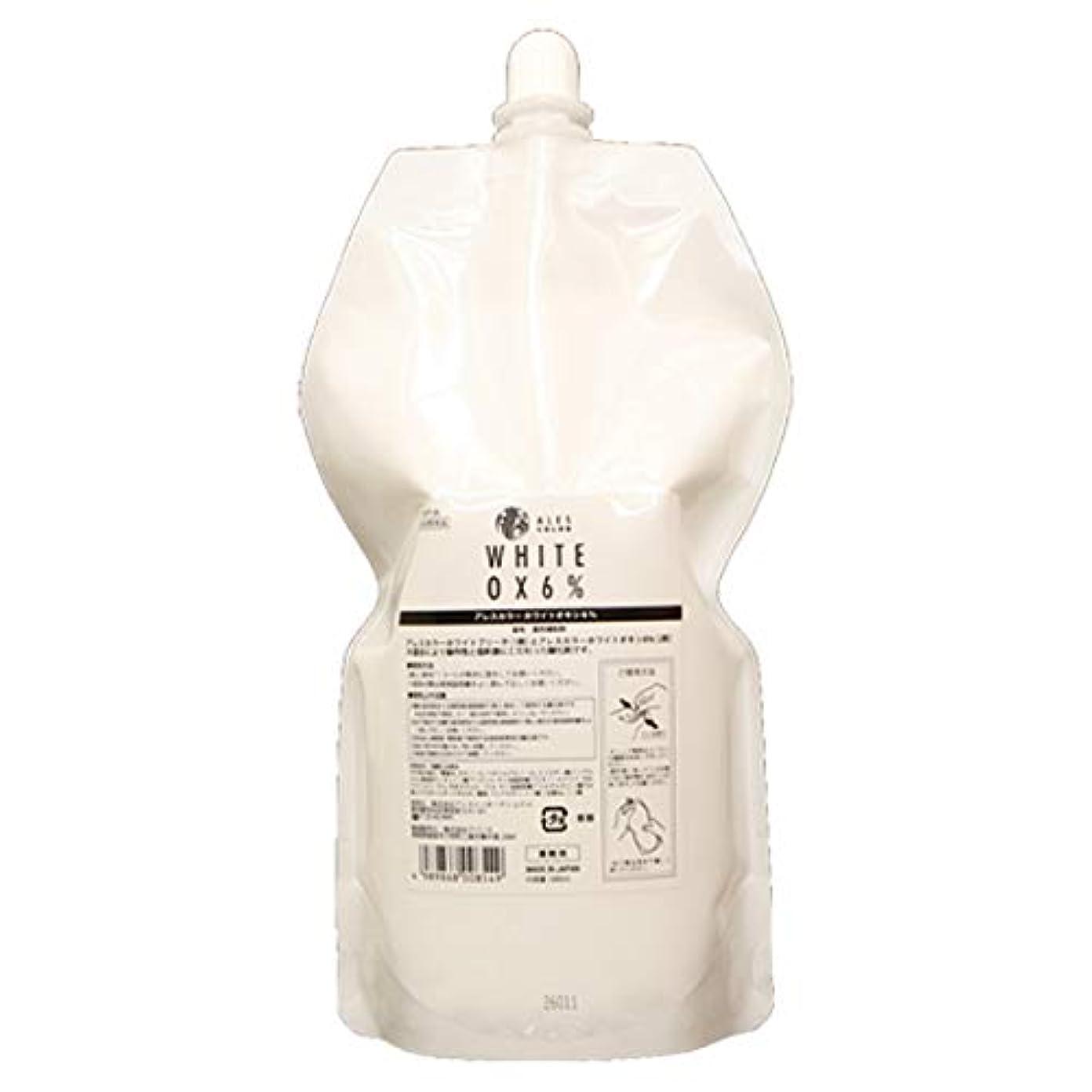 偉業フェリー野なアレスカラー ホワイトオキシ6% 1000ml