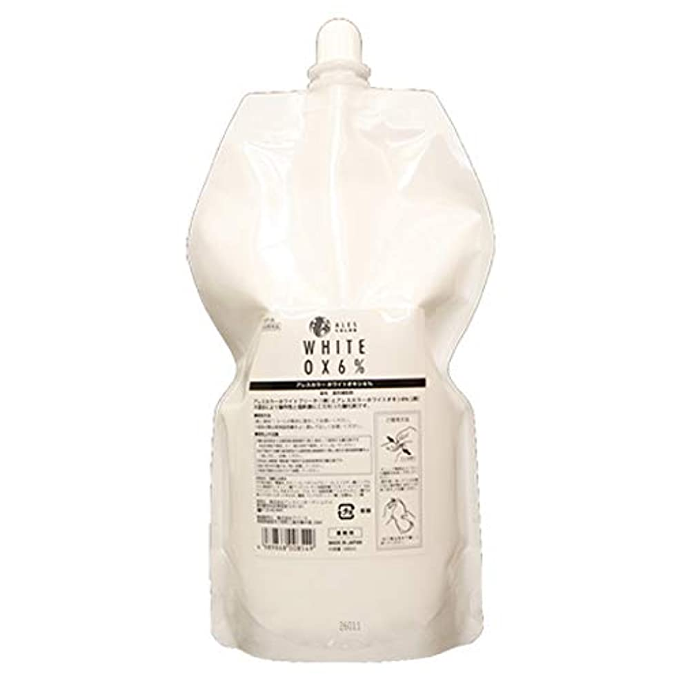 滑り台食用カップルアレスカラー ホワイトオキシ6% 1000ml