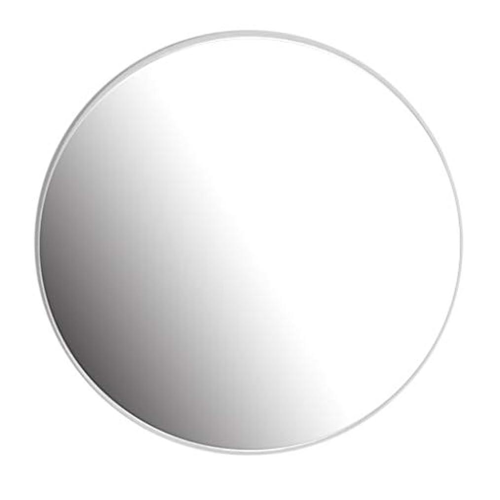同等の単にバースト40-80CM円形ミラー–バスルーム、洗面所、リビングルームなどの円形ミラー、ホワイト