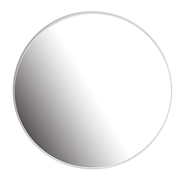 壊滅的なモンスター通路40-80CM円形ミラー–バスルーム、洗面所、リビングルームなどの円形ミラー、ホワイト