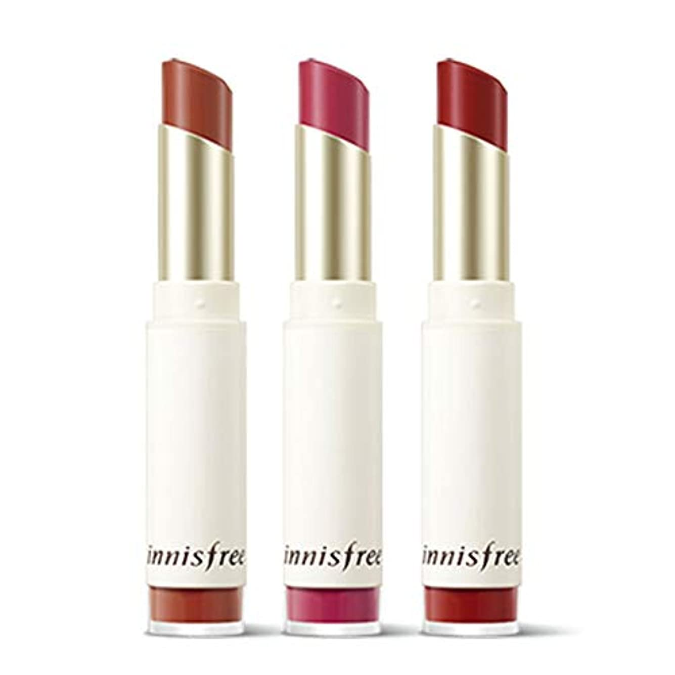 イニスフリーリアルフィットベルベットリップスティック3.3g Innisfree Real Fit Velvet Lipstick 3.3g [海外直送品][並行輸入品] (#08. Cherry Pink)