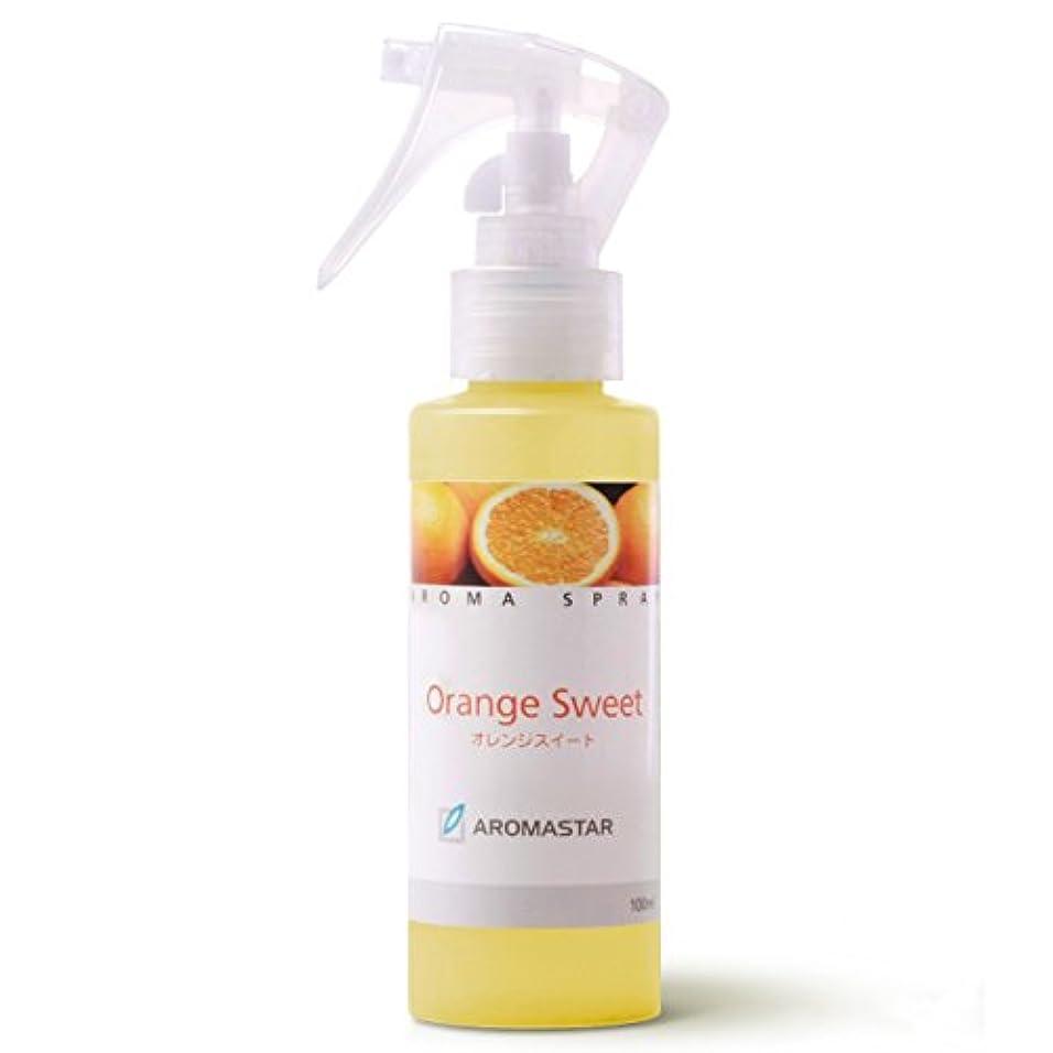 サイドボードゆでる美しい天然の香りのアロマスプレー【オレンジ】100ml