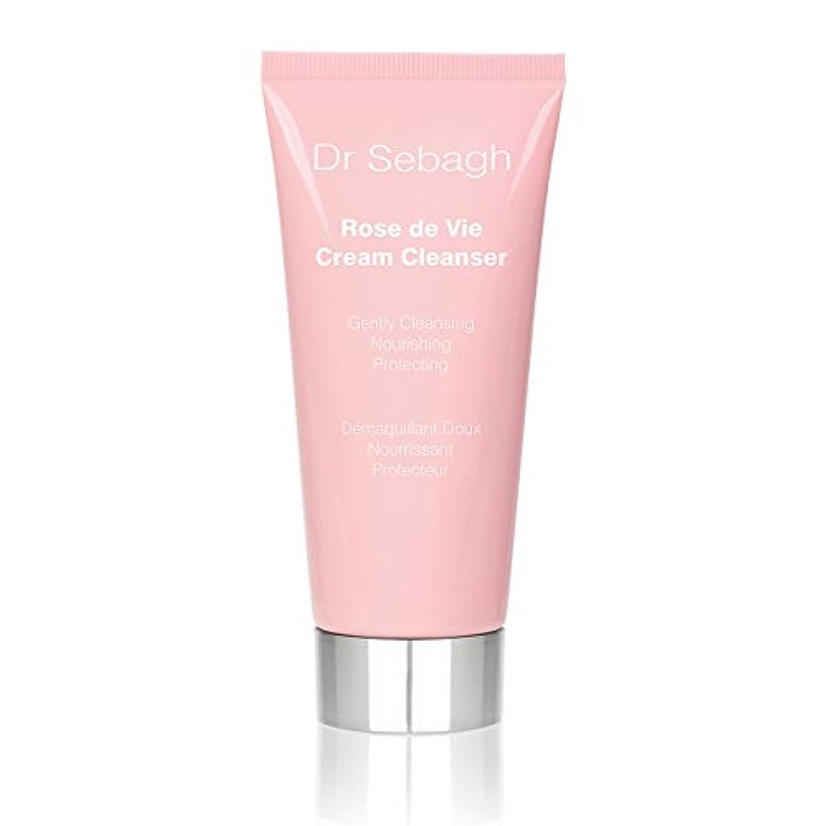 合成支払う自分を引き上げるドクターセバーグ Rose De Vie Cream Cleanser 100ml/3.4oz並行輸入品