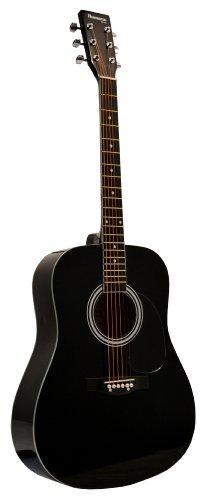 アコースティックギター - Black アコースティックギター アコギ ギター (並行輸入)