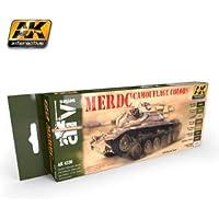 AK04230 - AK Interactive Set - MERDC Camouflage Colours