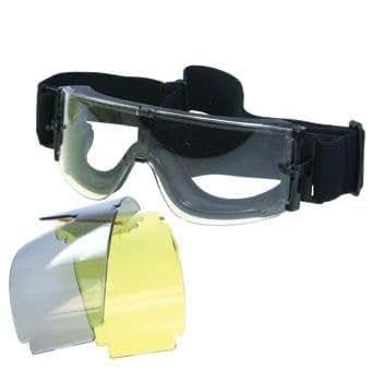 イーグル模型 コンバットゴーグルGX-1000 レンズ3種 5373