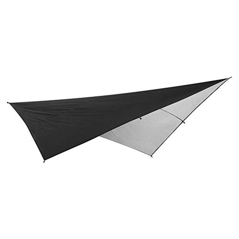 金曜日先のことを考える扱いやすいk-outdoor タープシェード タープテント 天幕 290*290cm 日よけ雨よけ 撥水 UV保護 軽量 携帯便利 固定ロープ付属