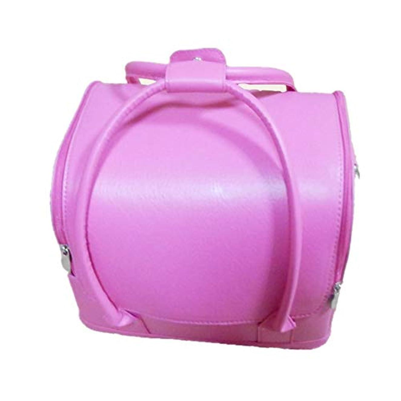 担保寺院特権化粧オーガナイザーバッグ 美しいメイクアップのための純粋な色ポータブル化粧品袋と女性の女性の旅行とジッパーで毎日のストレージ 化粧品ケース