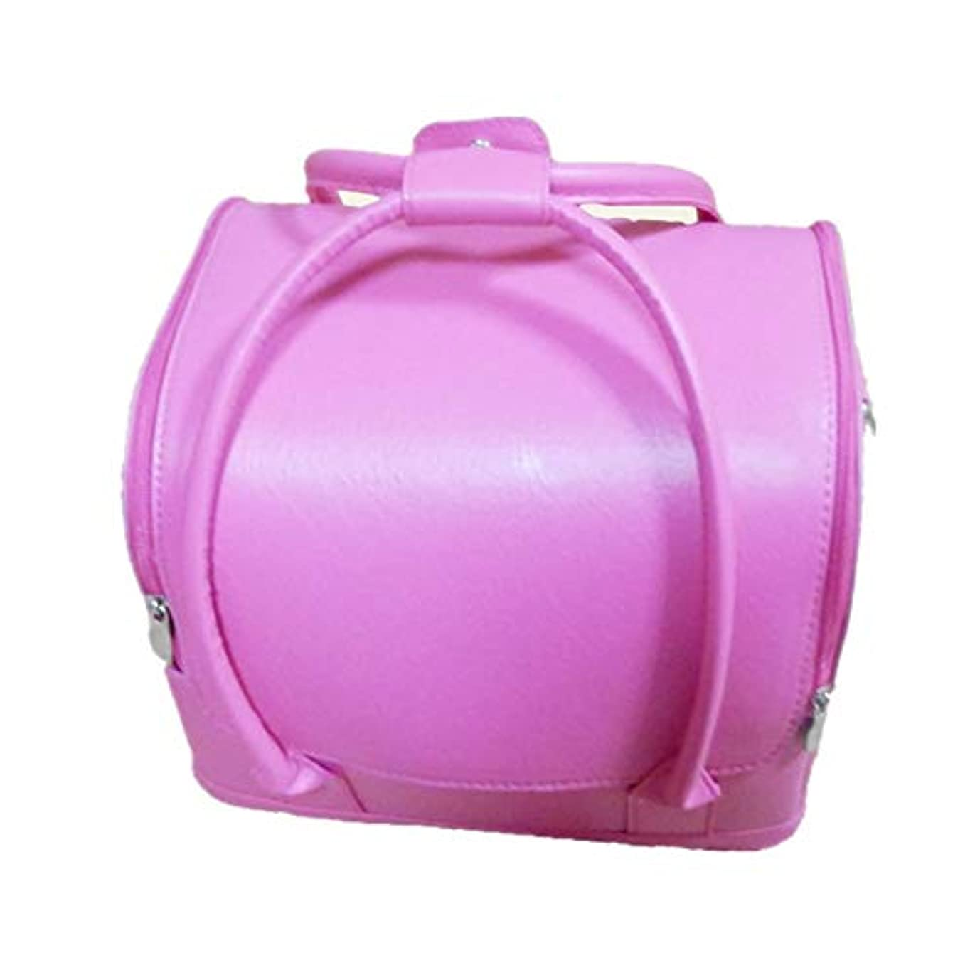 充電内なる女性化粧オーガナイザーバッグ 美しいメイクアップのための純粋な色ポータブル化粧品袋と女性の女性の旅行とジッパーで毎日のストレージ 化粧品ケース
