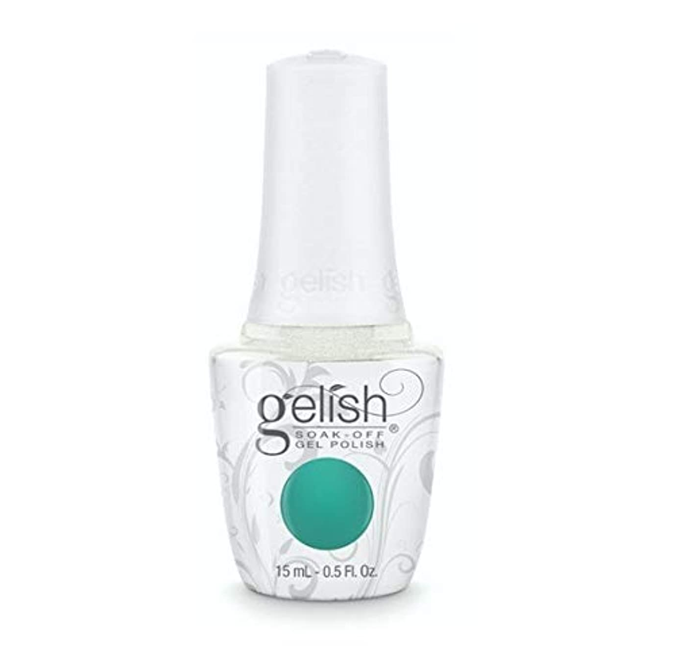 パーティション省略アレンジHarmony Gelish - Rocketman Collection - Sir Teal To You - 15ml / 0.5oz