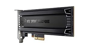 インテルoptane SSD p4800Xシリーズ( 375gb、1/ 2高さPCIe x4、20NM、3d Xpoint )シングルパック