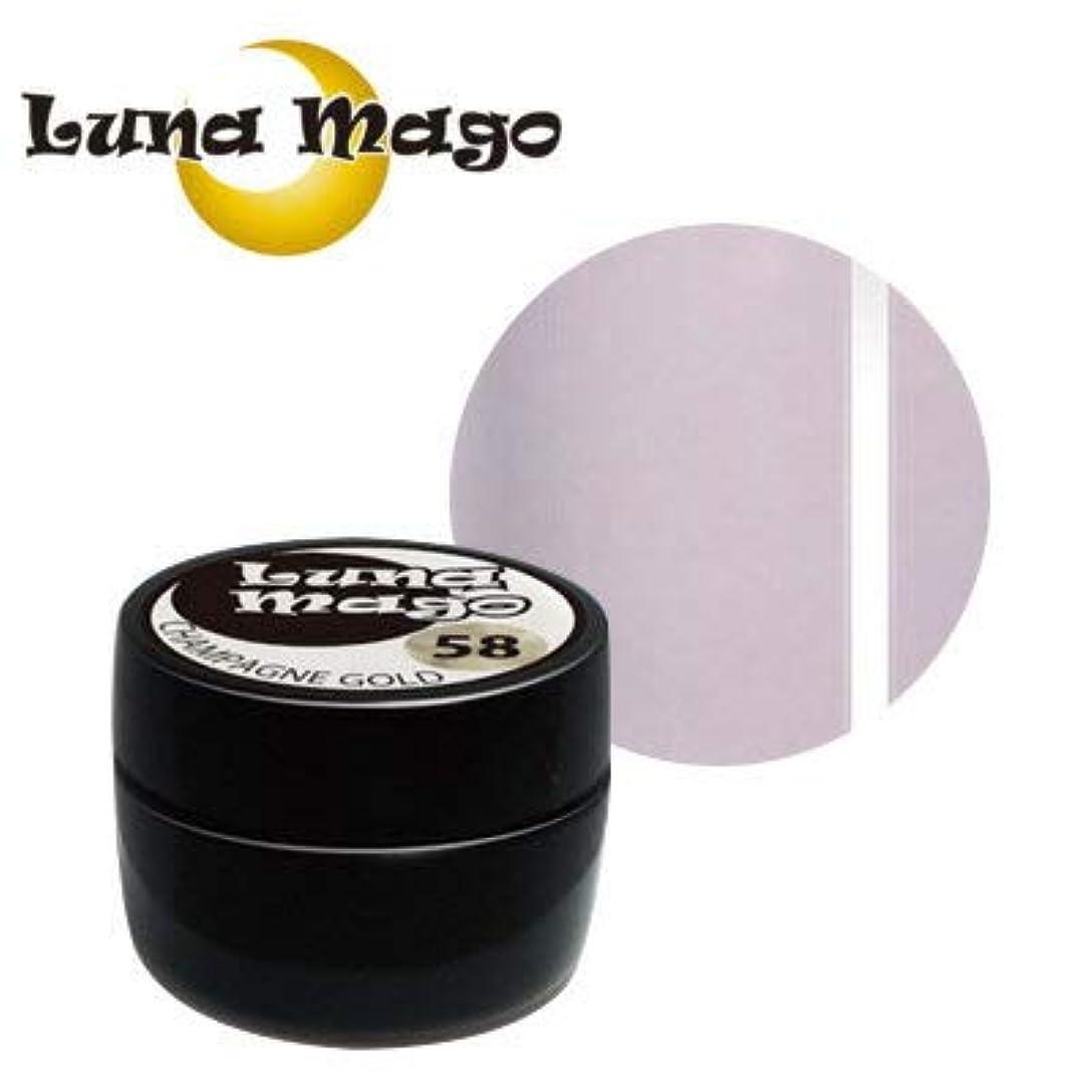熱帯の良いトランクLuna Mago カラージェル 5g 046 ライトパープル