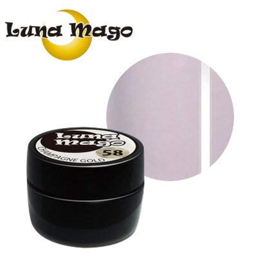 老朽化したぺディカブフェードLuna Mago カラージェル 5g 046 ライトパープル