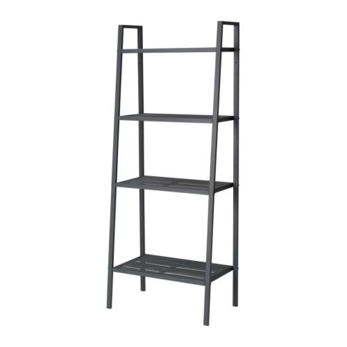 ★LERBERG/シェルフユニット/ダークグレー[イケア]IKEA(60186401)