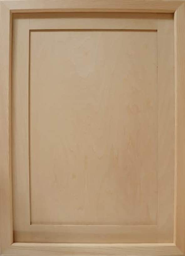 美的カスケード原油無塗装白木素材合板マット付 cw-943 ファインフレーム302×453