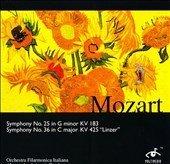 Mozart;Symphonies 25 & 36