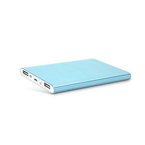 Mabox モバイルバッテリー 大容量 スマホ急速充電器 8000mAh 2USBポート iPhone6/iPhone6s/iPhone5 5s 5c/iPod/iPad/Xperia/Nexus/Sony等対応(ブルー)