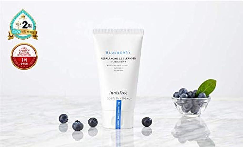 海洋のランドマーク運搬[イニスフリー.innisfree]ブルーベリーリバランシング5.5クレンザー(100mL×2ea)(2019新発売)Blueberry Rebalancing5.5 Cleanser