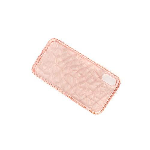 携帯電話保護ケースiPhone XR、iPhone X、iPhone Xs Max、iPhone X用 ダイヤモンド携帯電話シェルオールインクルーシブソフトシェル 携帯電話カバー 最軽量 超人気 落下防止 耐衝撃 携帯電話ケース おしゃれ