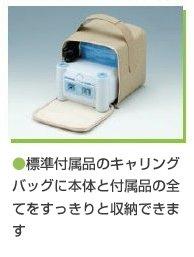 新鋭工業 コンプレッサー式ネブライザ ミリコンCube(小児マスク付)据え置型ネブライザー/吸入器