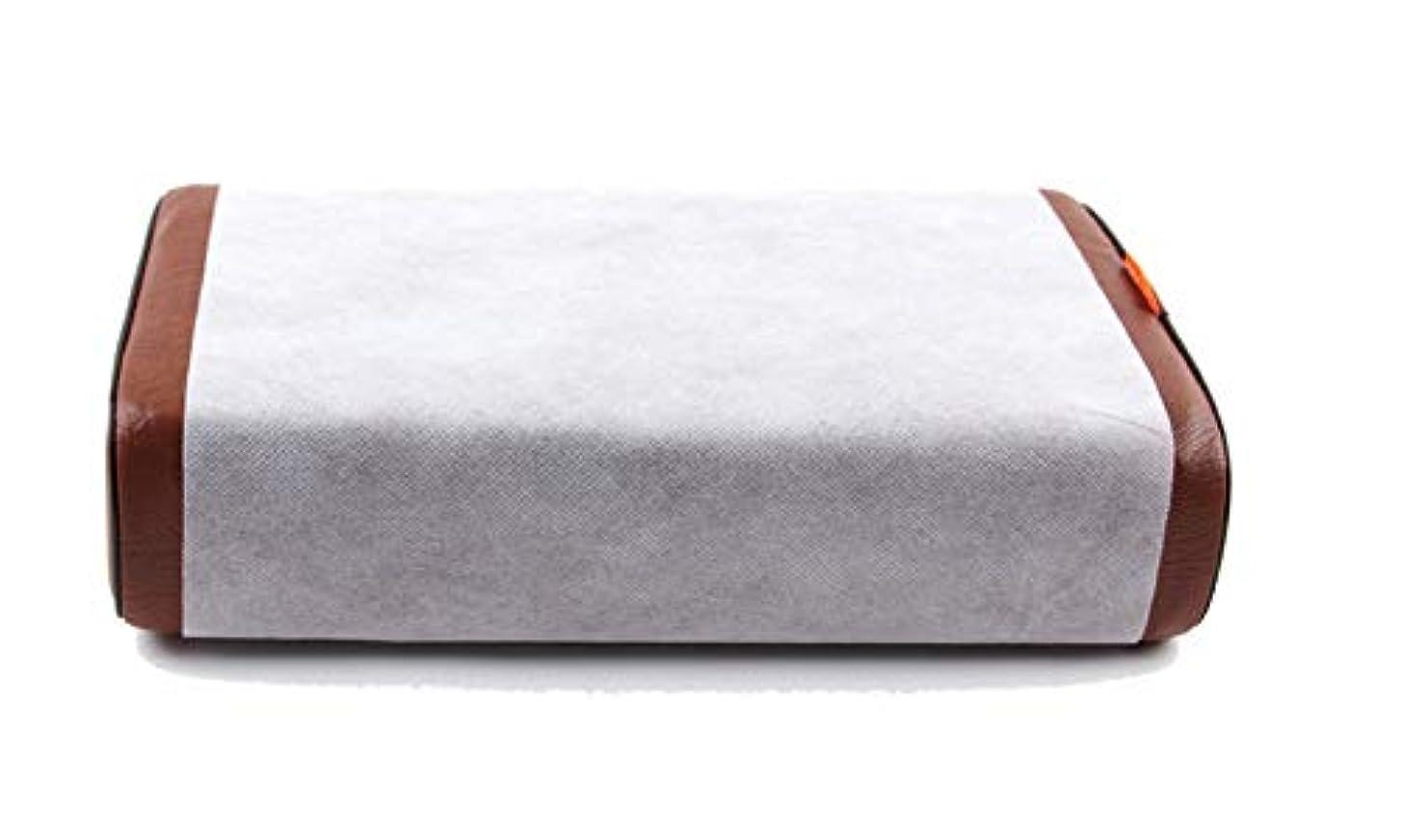 影のある章クルー200pcs ディスポーザブルマッサージピローカバー 枕カバー 使い捨てマッサージ枕カバーペーパープロテクターオーバーレイパッドスパ病院