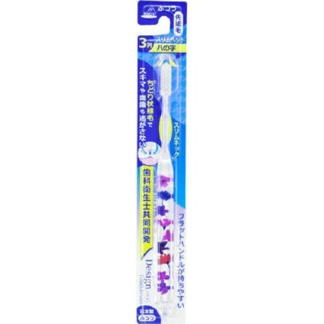 アヌシ OB-806FA ちどりデザインハブラシ Flower 1本入