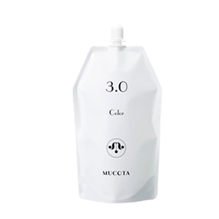 許す着飾る肥沃なムコタ ヘアカラー OX(3.0%/4.5%/6.0%) 各 1000ml【2剤】【オキシー】【グレイカラー・白髪染め】 (OX 3.0%)