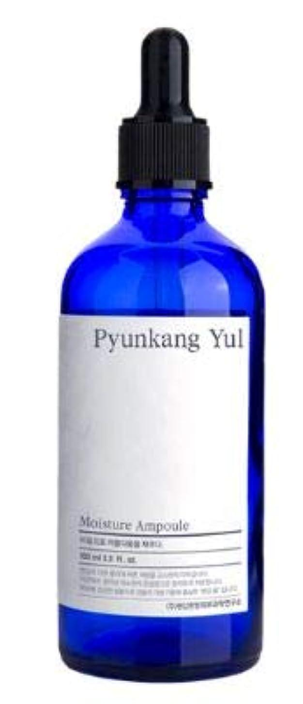 嘆く感性レザー[Pyunkang Yul] Moisture Ampoule 100ml /モイスチャー アンプル 100ml [並行輸入品]