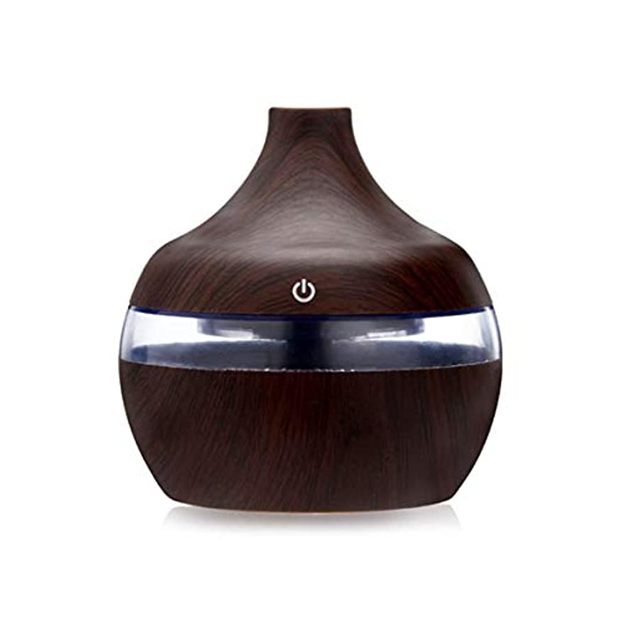 迫害するセール趣味intercorey Beauty skin humidifier Wood Grain Essential Oil Aromatherapy Diffuser USB Charging Home Air Humidifier...