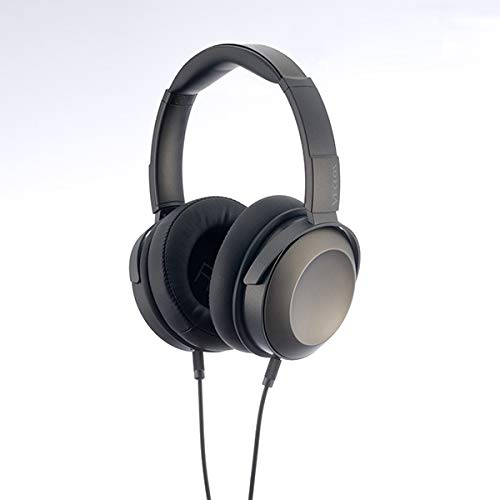 VECLOS 密閉型 オーバーイヤーヘッドホン HPT-700-TG チタンゴールド