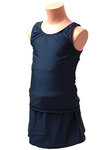 【865757ガールズ)セパレートスカートタイプスクール水着女児女子女の子水着】(160サイズ)