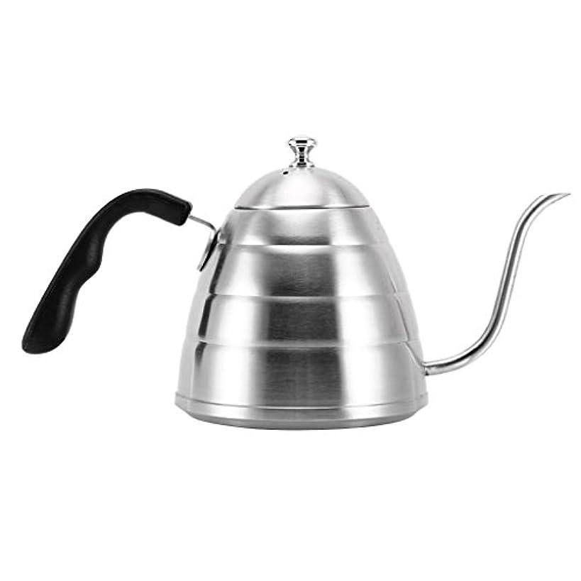 地区国民誰Baosity ポータブル ウォーターケトル 304ステンレス鋼 900ml コーヒーポット 茶ボイラー キャンプ ピクニック バーベキュー用