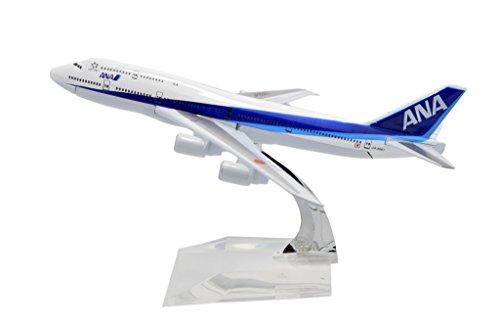 TANG DYNASTY 1/400 16cm 全日空 ANA ボーイング B747 高品質合金飛行機プレーン模型 おもちゃ