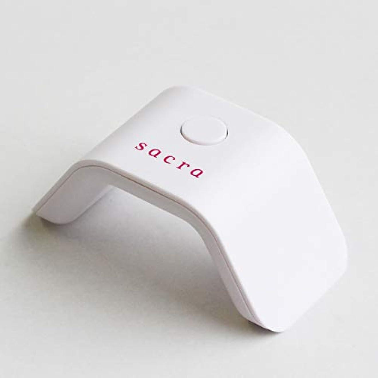 くしゃくしゃサイクルハドルsacra(サクラ) sacra mini LED LIGHT (WHITE) ホワイト