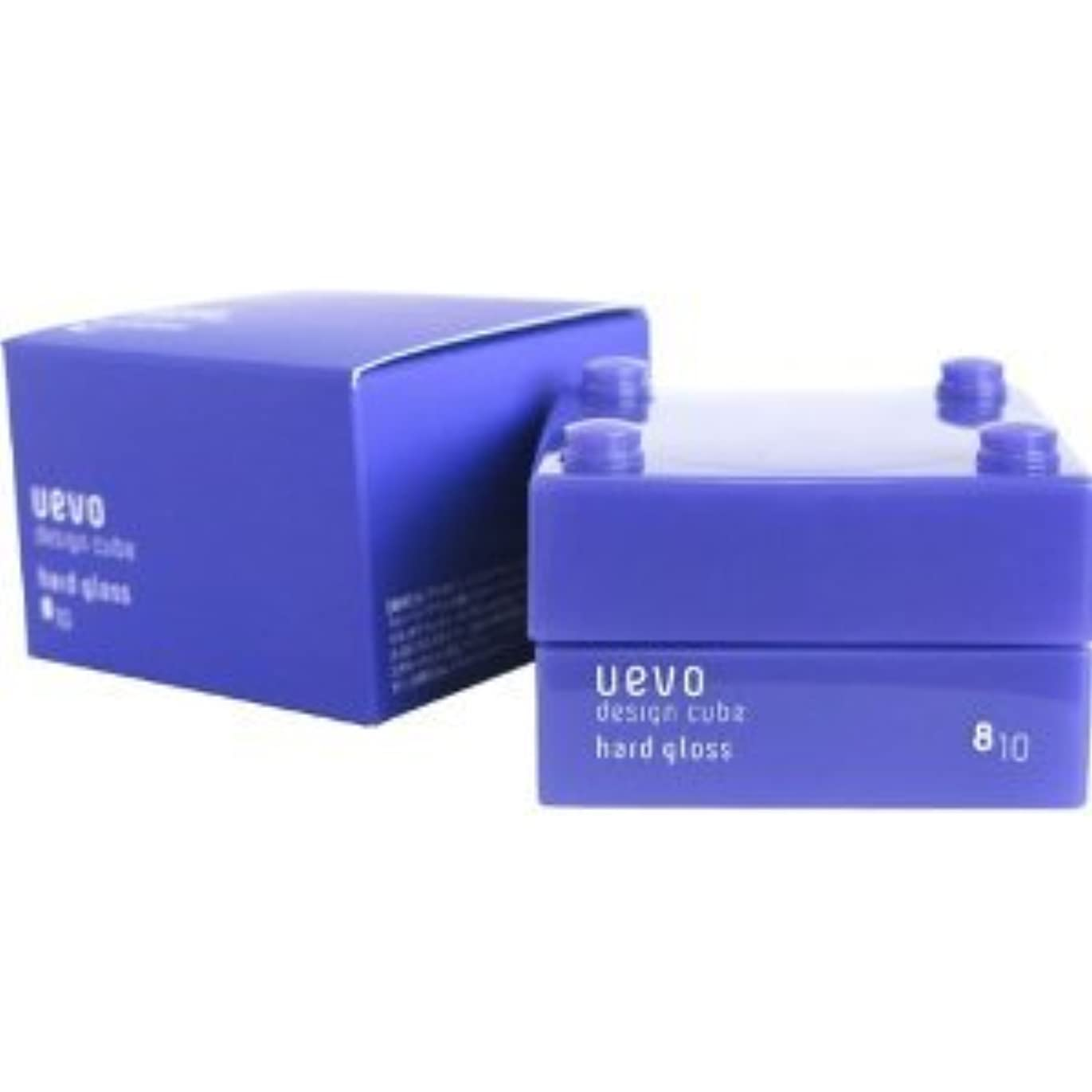 方向説得力のある情報【X2個セット】 デミ ウェーボ デザインキューブ ハードグロス 30g hard gloss DEMI uevo design cube