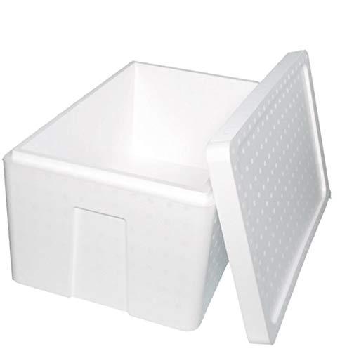 発泡スチロール 箱 (肉厚) 保温冷凍箱 3個 550×350×280mm 【内容量33.5リッター】